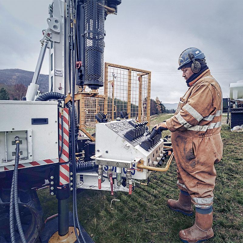Raeburn Sonic Drilling Capabilities